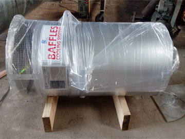Baffles Turbine Silencer