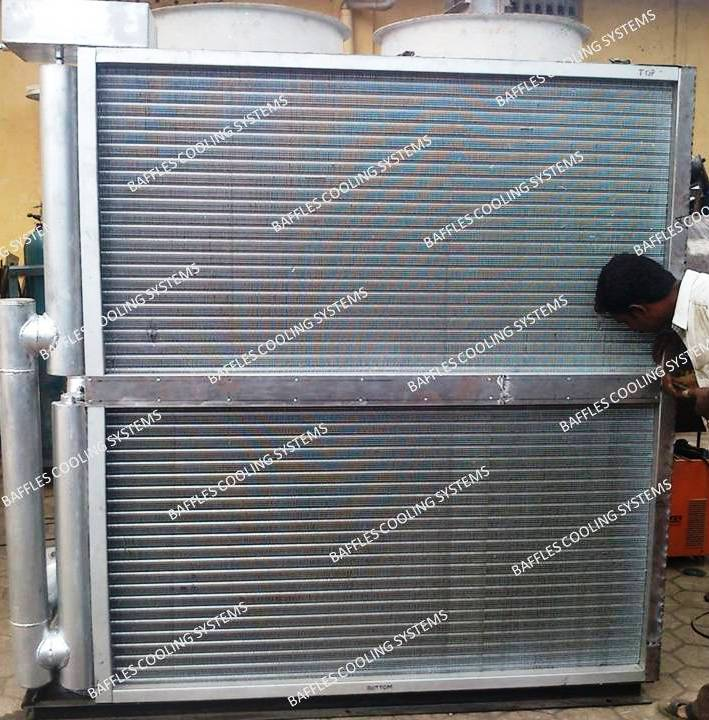coil type cooling tower