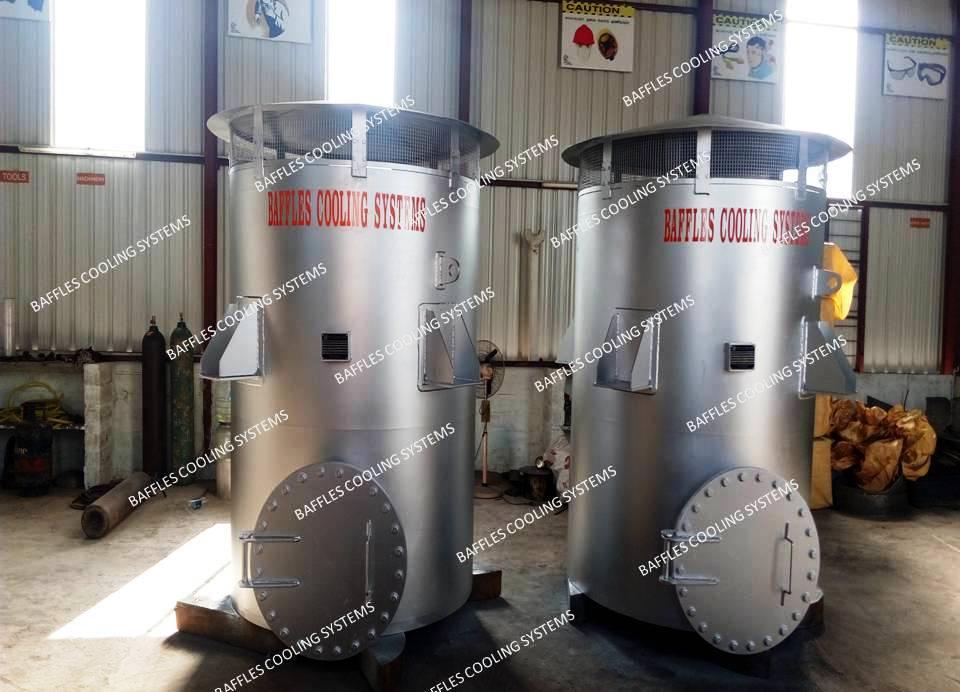 process natural gas vent silencer
