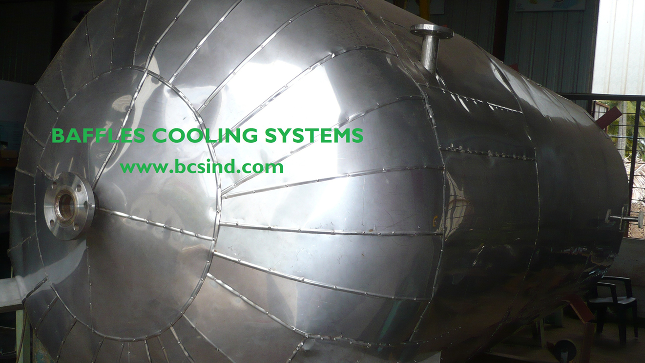 Calorifier pressure vessel