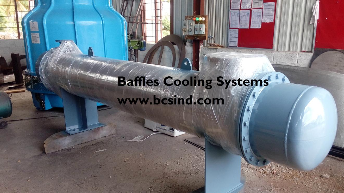 Condenser heat exchanger