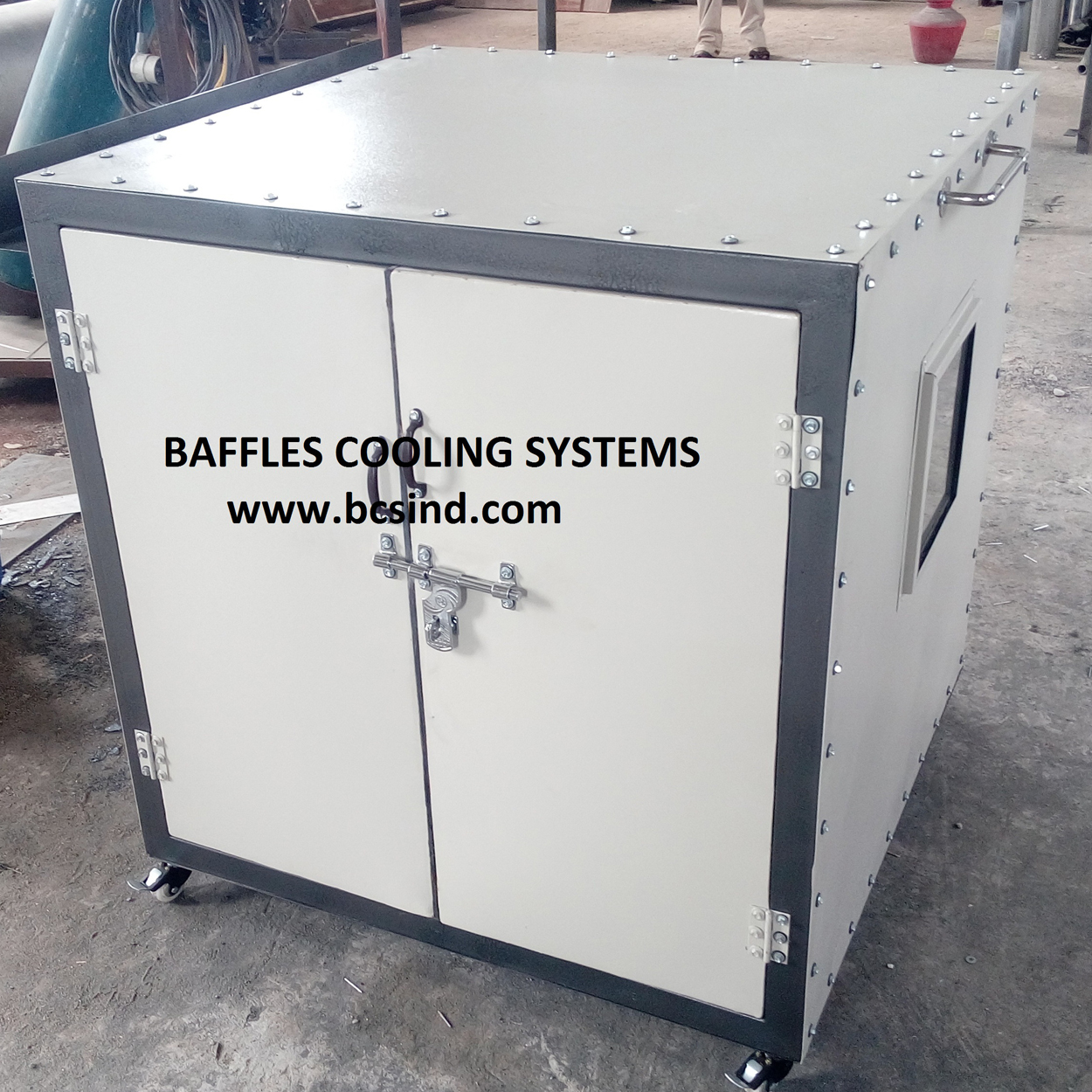 acoustic enclosure for blower machine