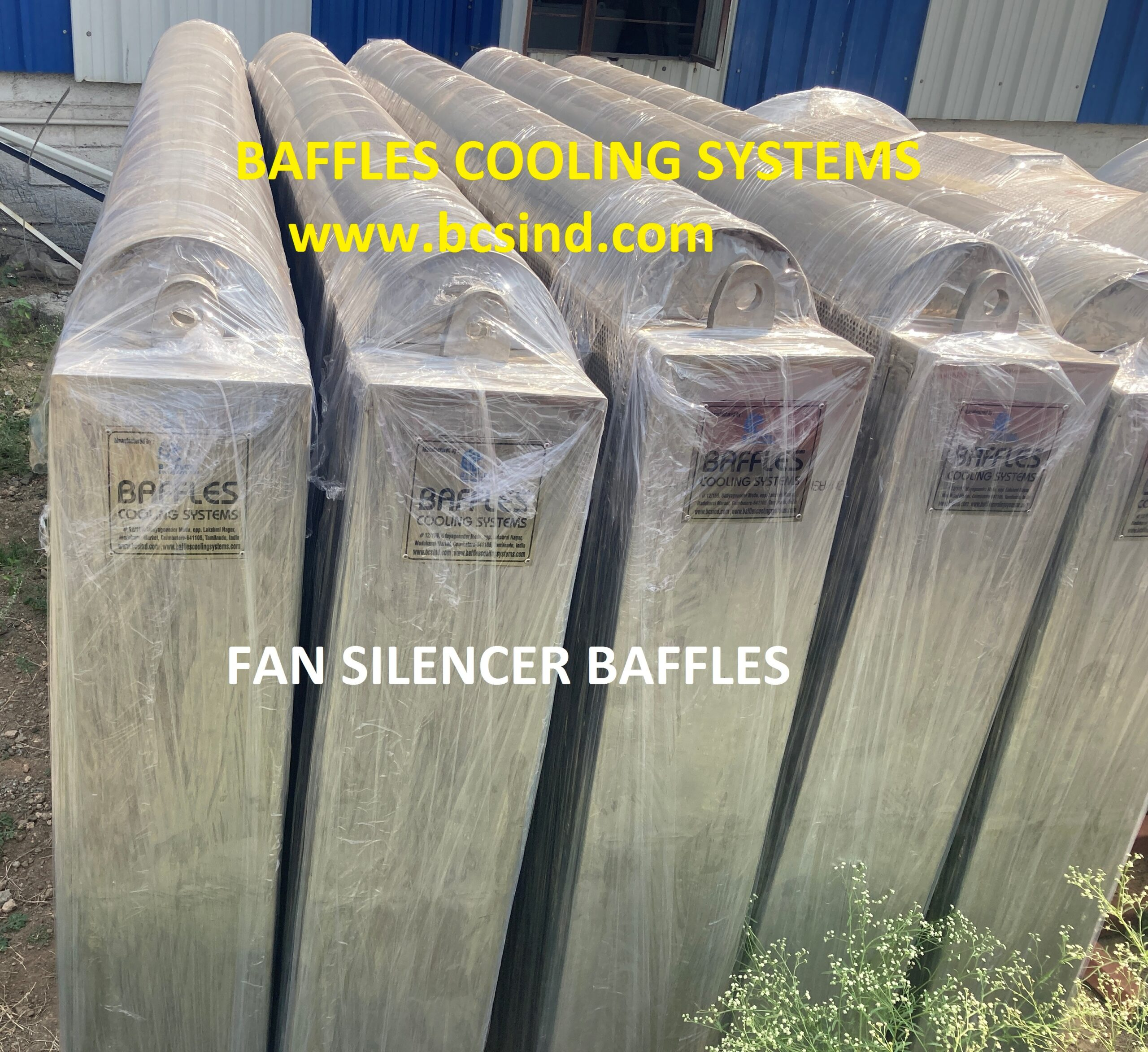 FAN SILENCER MANUFACTURER