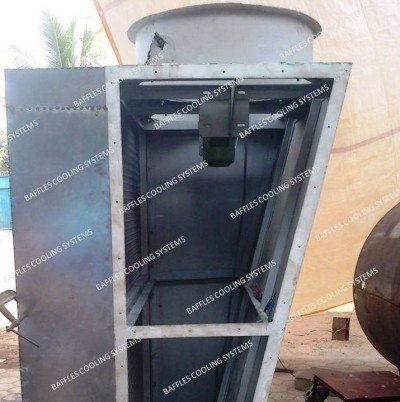 cross flow dry cooling tower